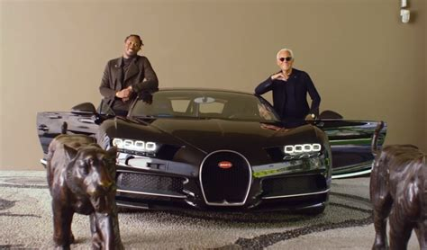 future rapper cars future meets armani in a bugatti chiron