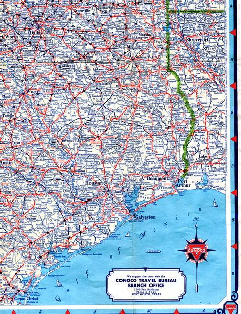 map of southeast texas highway maps of texas