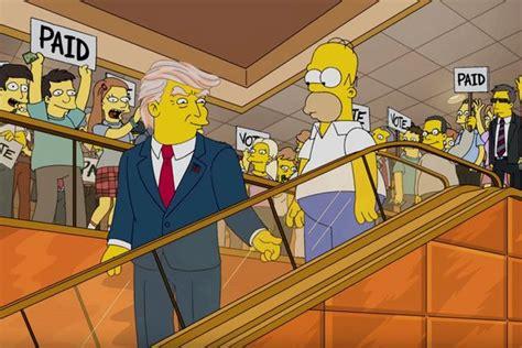 trump triumph predicting  simpsons  extended