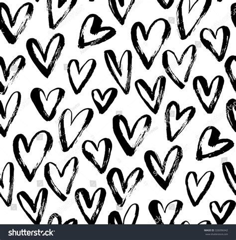 black heart pattern heart patterns black and white www imgkid com the