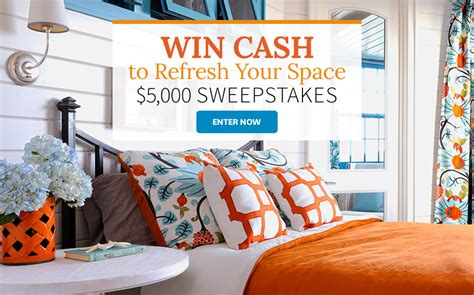Better Home And Garden Sweepstakes - better homes and gardens 5 000 cash to refresh your space sweepstakes familysavings