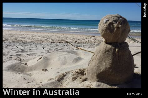 winter in australia this aint news
