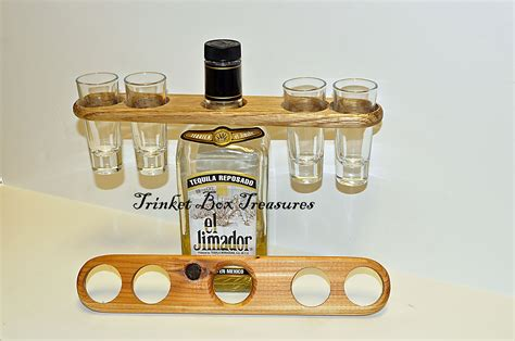 shot glass holder another shot glass holder this one holds 4 shot glasses