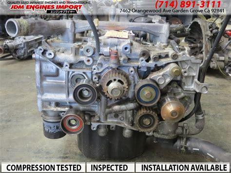 Subaru Ej Engine by Jdm Subaru Ej Block 99 05