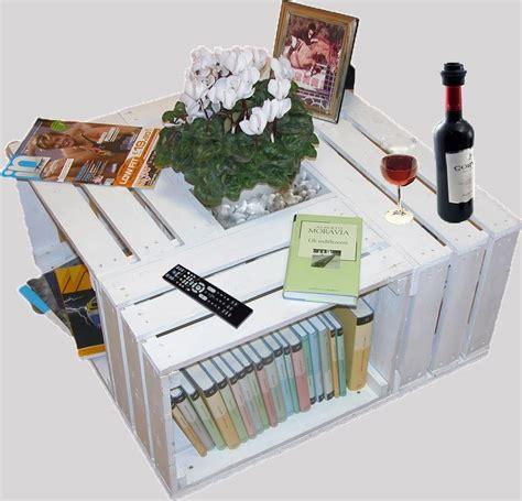 tavolo con pallet tavolino con 4 cassettine come realizzarlo mobili in
