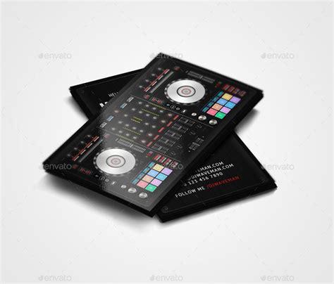 Digital Dj Business Card Template by 10 Creative Real Object Business Card Templates