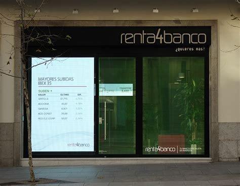 oficinas renta 4 broker renta 4 acciones opciones fondos de inversi 243 n