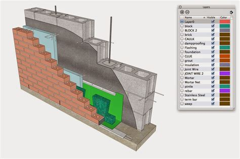 sketchup layout walls a conversation with the international masonry institute