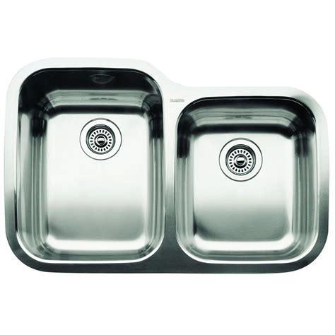 blanco one sink blanco magnum undermount stainless steel 31 in single