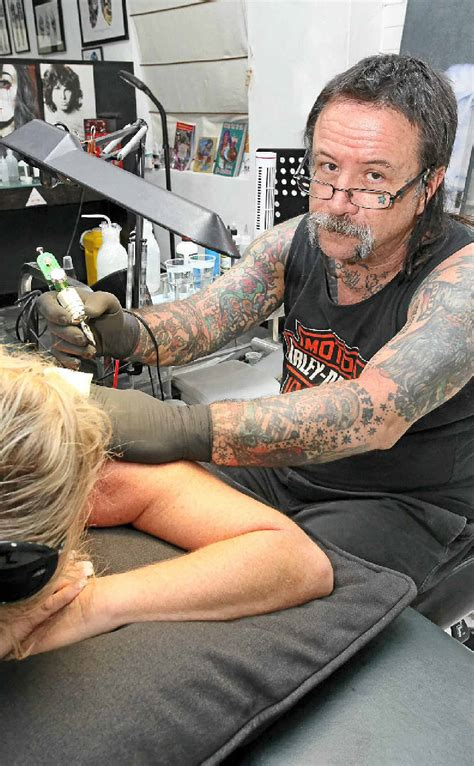 tattoo prices toowoomba new tattoo licencing threatens rebels bikie parlour owner