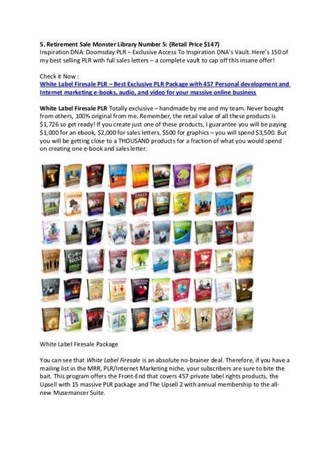 Plr Exclusive Marketing white label firesale plr review best exclusive plr