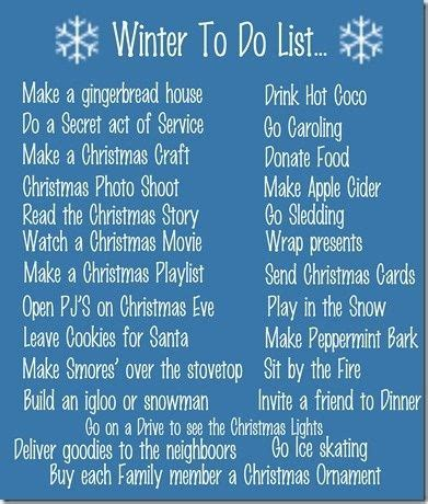 9 Cool Things To Do During The Holidays by Corner Winter To Do List Ideas Of Things To Do