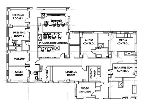 tv floor plan collection of tv studio floor plan apartment floor plan