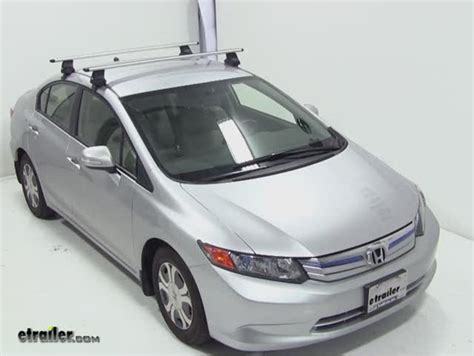 Honda Civic Coupe Roof Rack by Thule Roof Rack Fit Kit For Traverse Foot Packs 1425