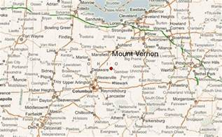 map of vernon mount vernon ohio location guide