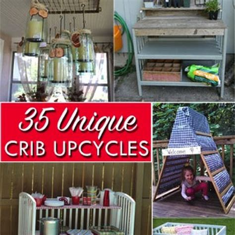 35 Ways To Repurpose Cribs And Parts Of Cribs The Kim