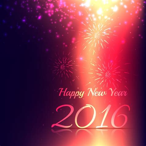 new year greeting card vector free download