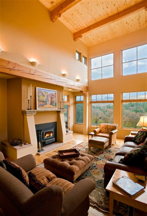 southwestern living rooms modern southwest style home southwestern living room