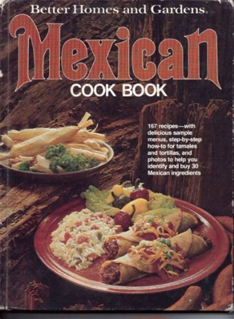 better homes and gardens mexican cook book mexican drink