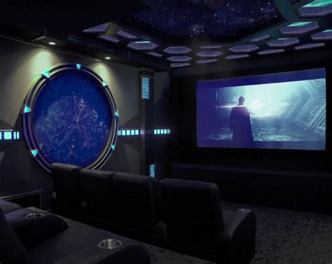 Wohnzimmer Theater Boca by Sci Fi Home Theater Design Is Portal To Another World