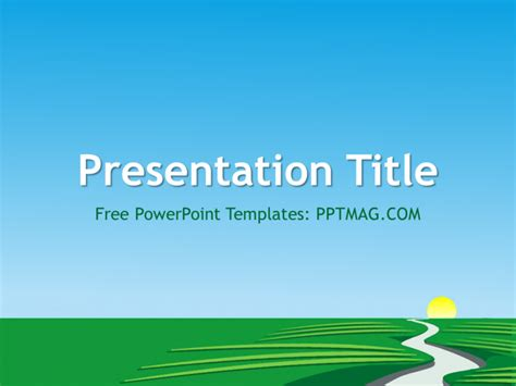 powerpoint themes river free river powerpoint template pptmag