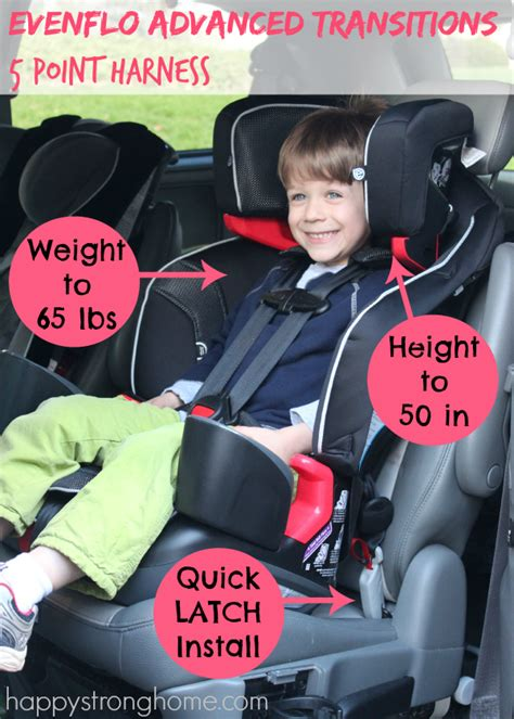 switch car seats  older kids happy strong home