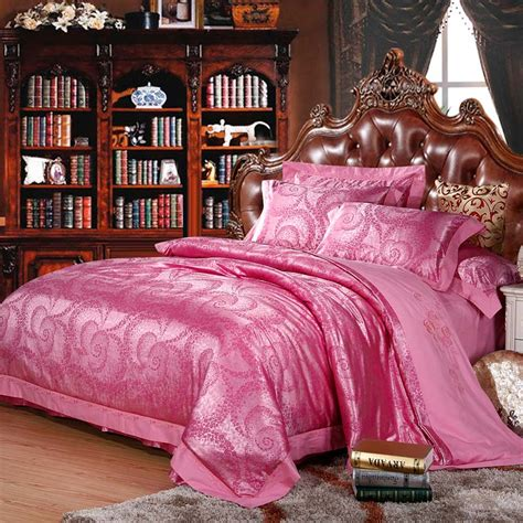 Pink Gold Bedding Promotion Shop For Promotional Pink Gold Pink And Gold Bedding Sets