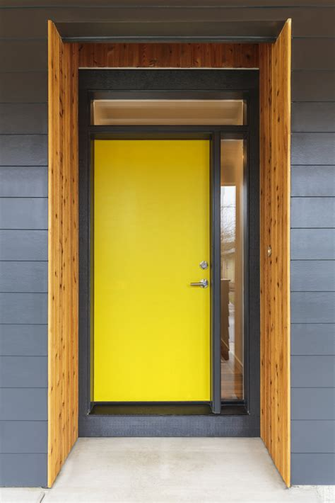 bright yellow door 58 types of front door designs for houses photos