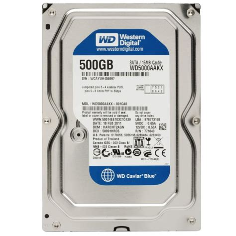Hardisk Pc 500gb Sata wd western digital caviar blue 500gb end 2 17 2018 4 40 pm