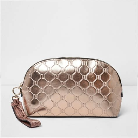 rose gold metallic monogram   bag bags purses