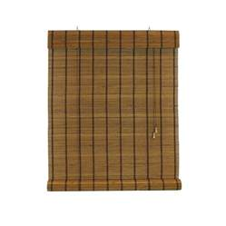 Reed Roll Up Blinds Shop Radiance Sable Light Filtering Bamboo Roll Up Shade