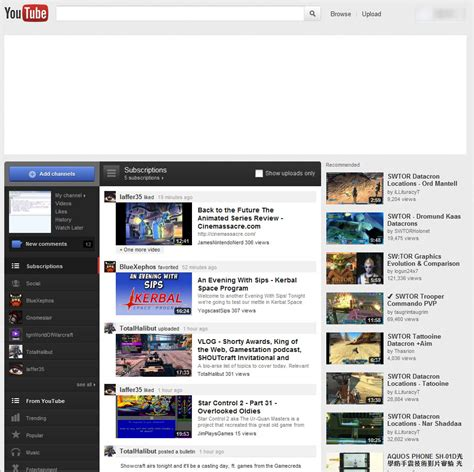 new youtube layout firefox how to switch back to youtube s old page design ghacks