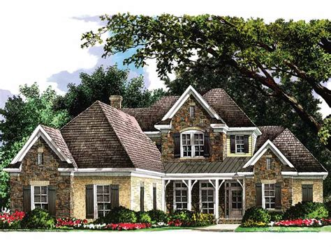 french country cottage house plans french country cottage 5467lk architectural designs