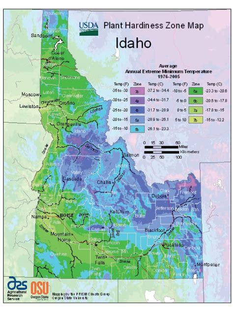 Idaho: Vegetable Planting Calendar