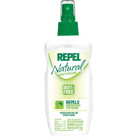 natural mosquito repellents repel natural insect repellent pump walmart com