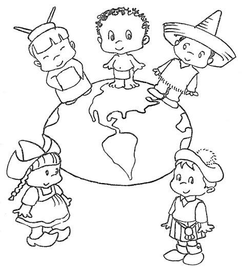 imagenes del 24 de octubre para colorear con mirada de ni 241 os dia de las naciones unidas
