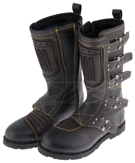 black dirt bike boots icon 1000 elsinore boots revzilla