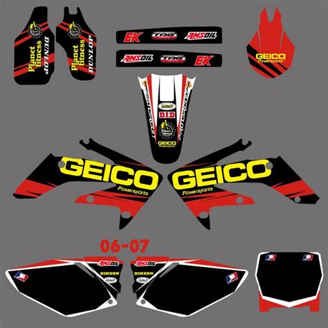 Sticker Kit Honda Crf 250 by Graphics Backgrounds Decals Stickers Kits For Honda