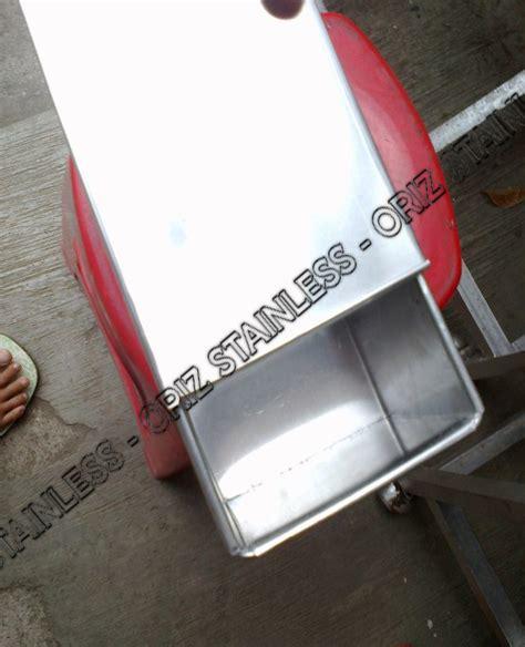 Cetakan Lontong Besar loyang dan cetakan oriz stainless