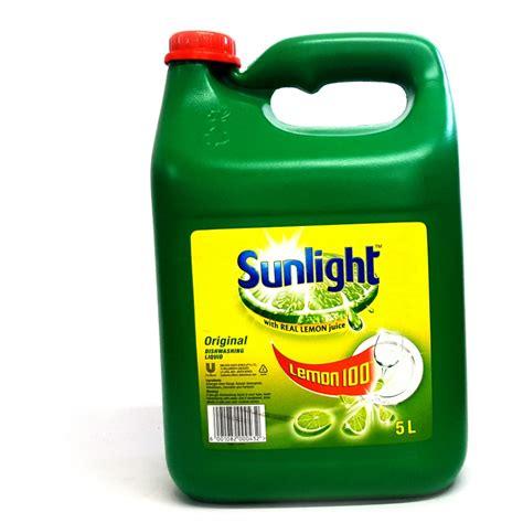 what is a sunlight l sunlight dishwashing liquid 5 l