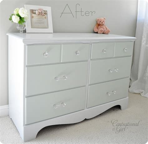Painting Dresser by Two Tone Treasure How To Paint Furniture Centsational