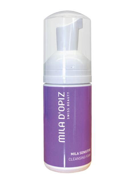 Mila D Opiz Sensitive Soft Cleansing Foam mila sensitive cleansing foam 100ml swiss musk collection the of swiss perfume
