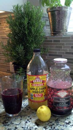 Cranberry Psyllium Detox by Liver Cleanse Cocktail With An Energy Booster