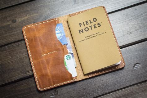 Notedo Pocket Notes Be Aware black leather field notes cover popov leather
