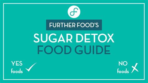 Further Foods Sugar Detox by Go On A Sugar Free Diet Get A List Of What To Eat And To