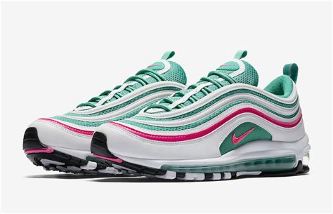 Harga Sepatu New Balance Warna Pink miami vibes pada sepatu nike air max 97 south