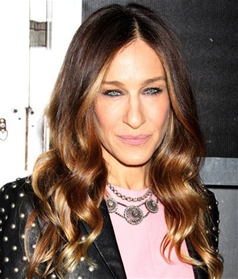 age appropriate for ombre sarah jessica parker s brown ombre with face framing