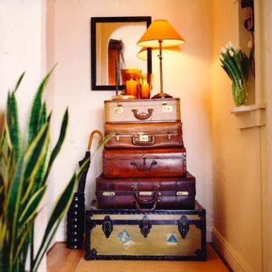 home decor trunks belle maison decorating with trunks vintage luggage