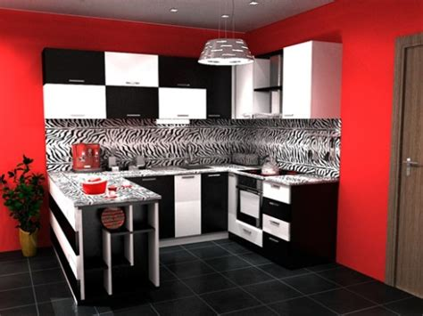red and black kitchen cabinets small red and black kitchen sets design ideas kitchen