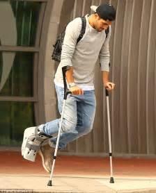 Injury Injured Cast Crutch Player Athlete Beaten Up Beaten Hit » Ideas Home Design